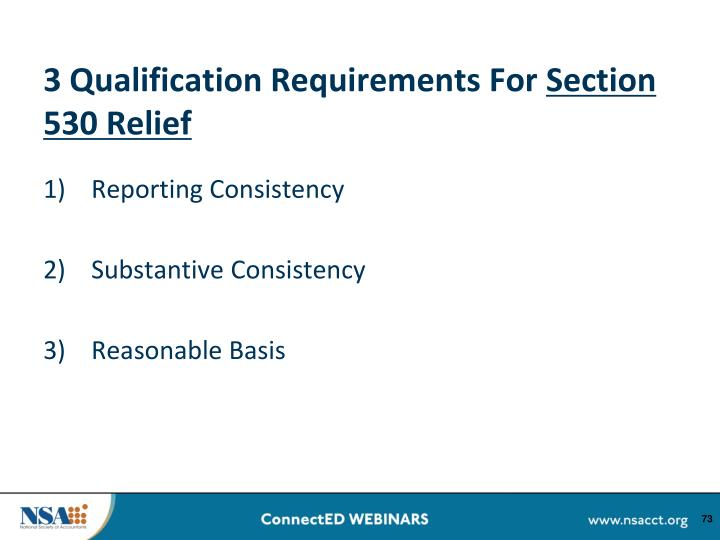 3 Qualification Requirements For