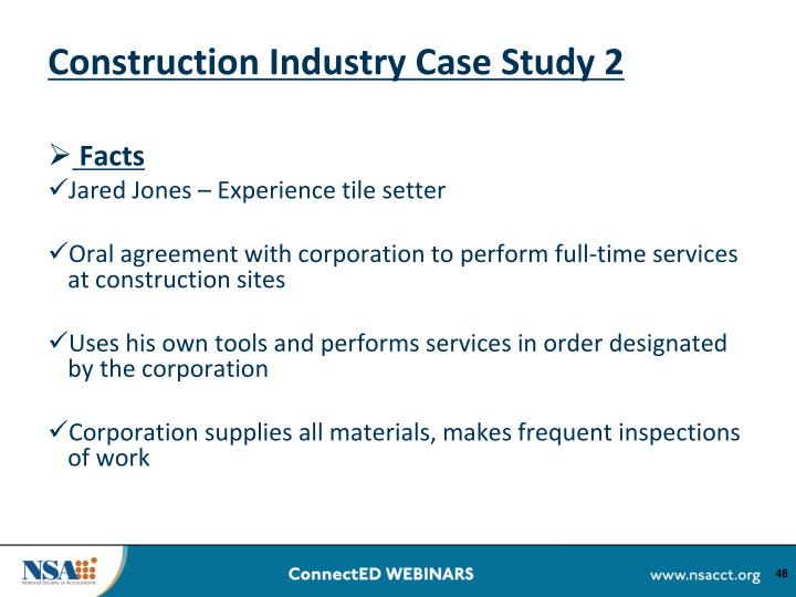 Construction Industry Case Study 2