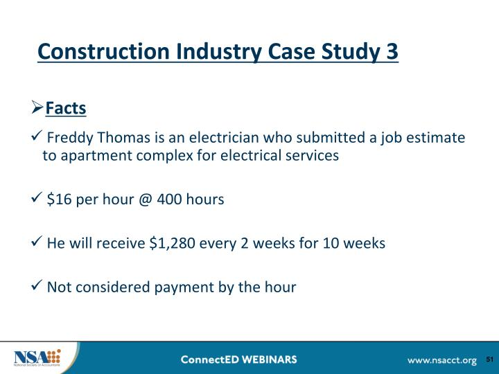 Construction Industry Case Study 3
