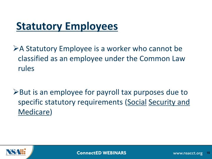 Statutory Employees