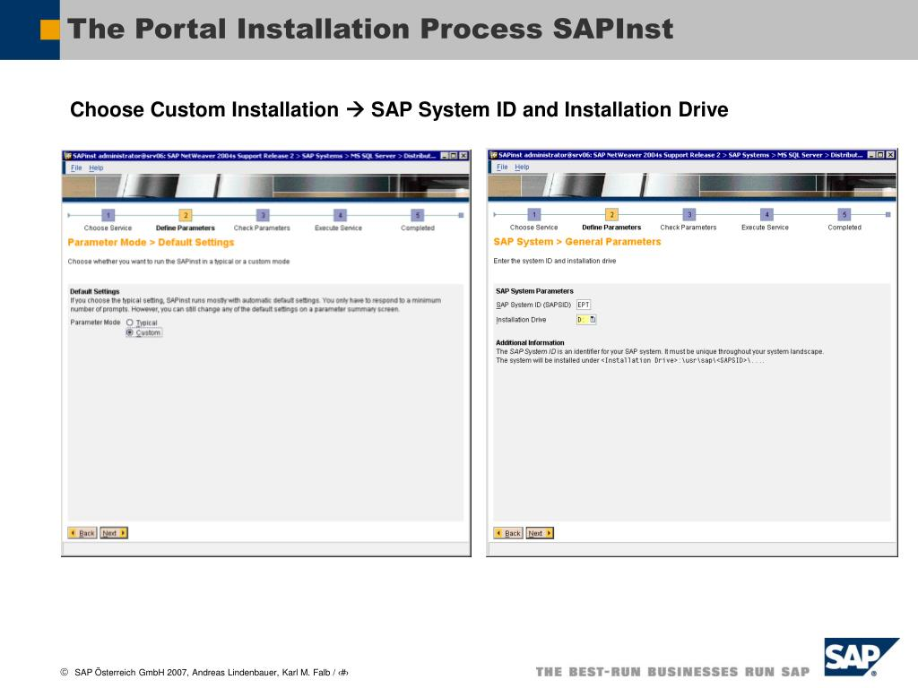 PPT - The Portal Installation Process PowerPoint