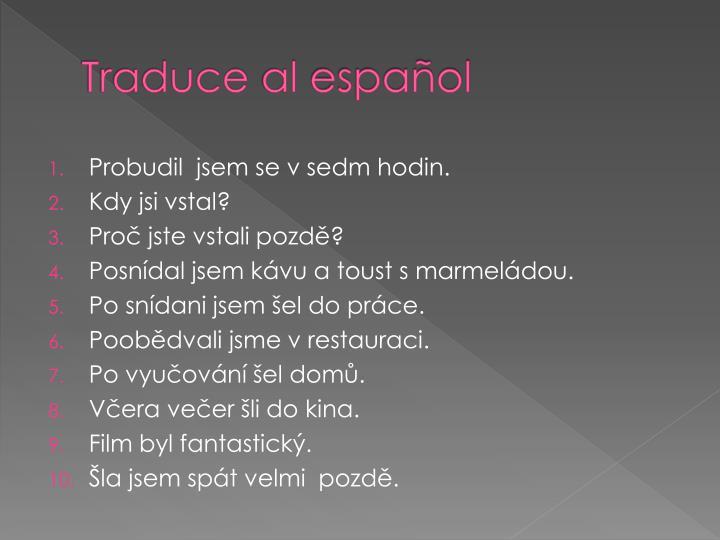 Traduce