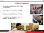 7 higher education