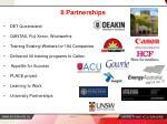 8 partnerships