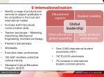 9 internationalisation