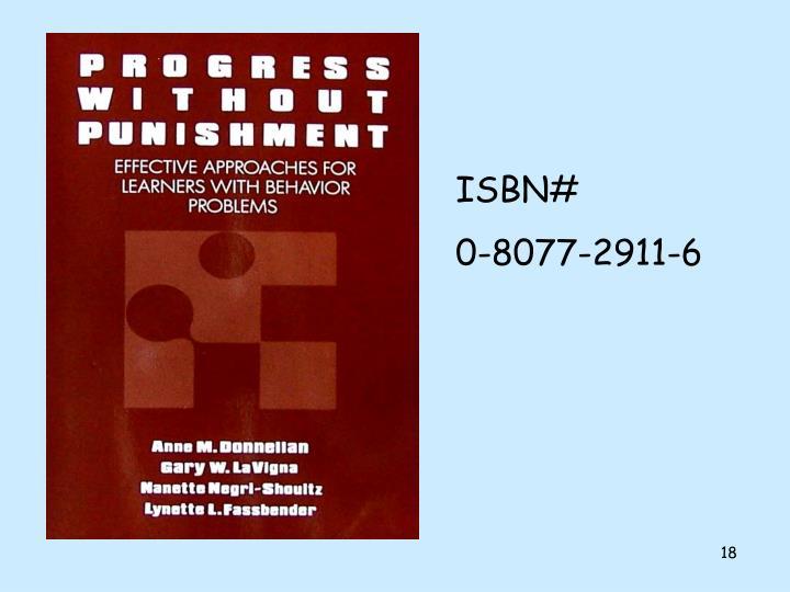 ISBN#