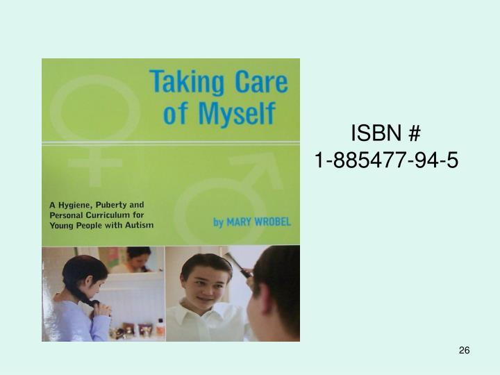 ISBN #