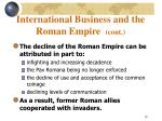 international business and the roman empire cont