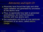 astronomy and light 3