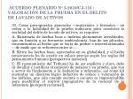 acuerdo plenario n 3 2010 cj 116 valoraci n de la prueba en el delito de lavado de activos1