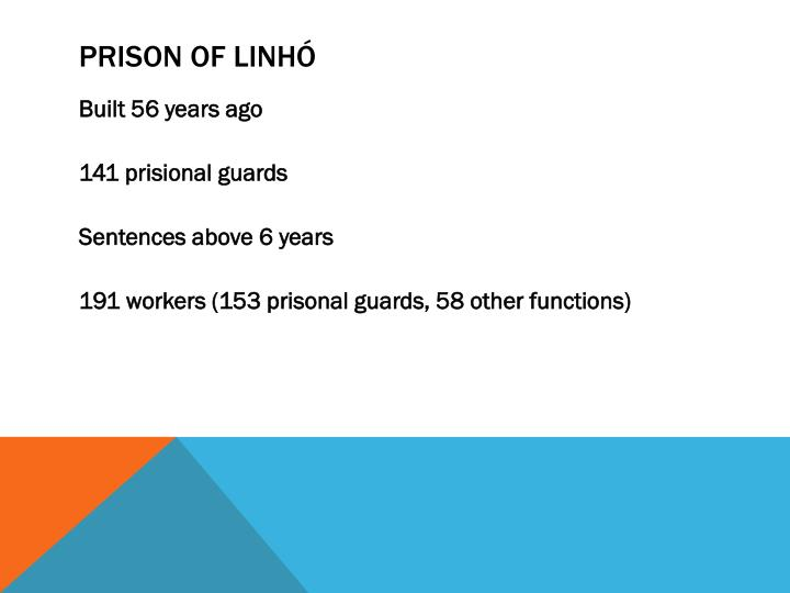 Prison of linh