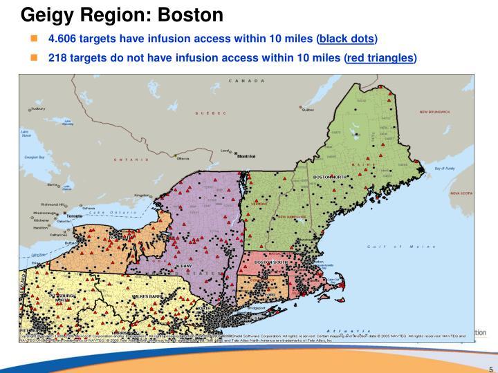 Geigy Region: Boston