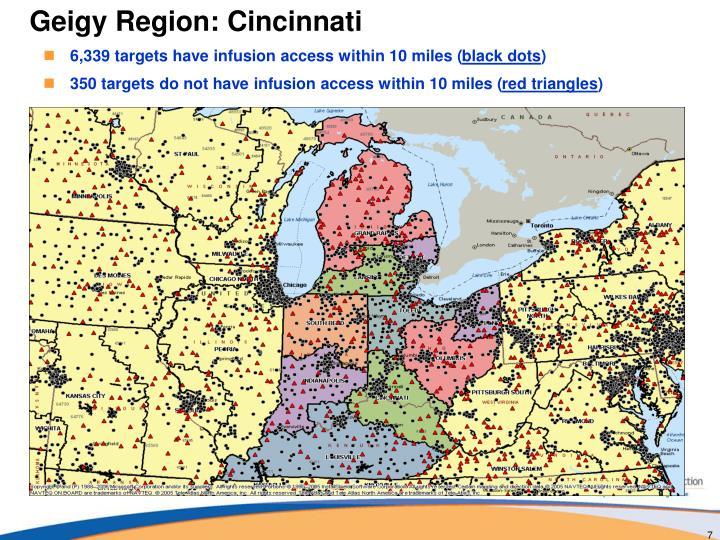 Geigy Region: Cincinnati