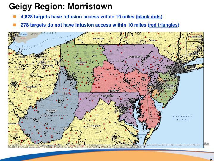 Geigy Region: Morristown