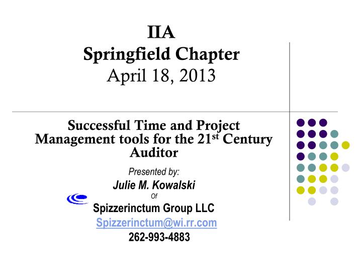 iia springfield chapter april 18 2013 n.