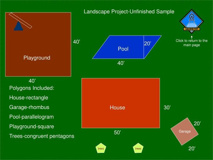 Landscape Project-Unfinished Sample