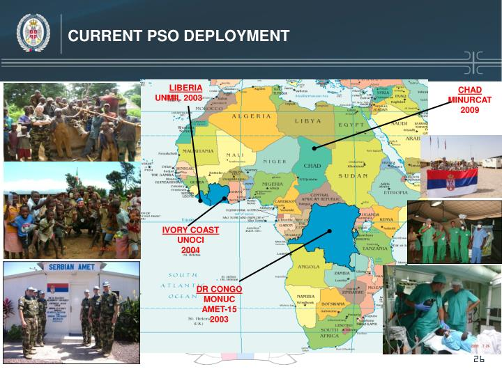 CURRENT PSO DEPLOYMENT