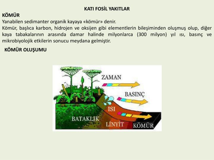 KATI FOSİL YAKITLAR