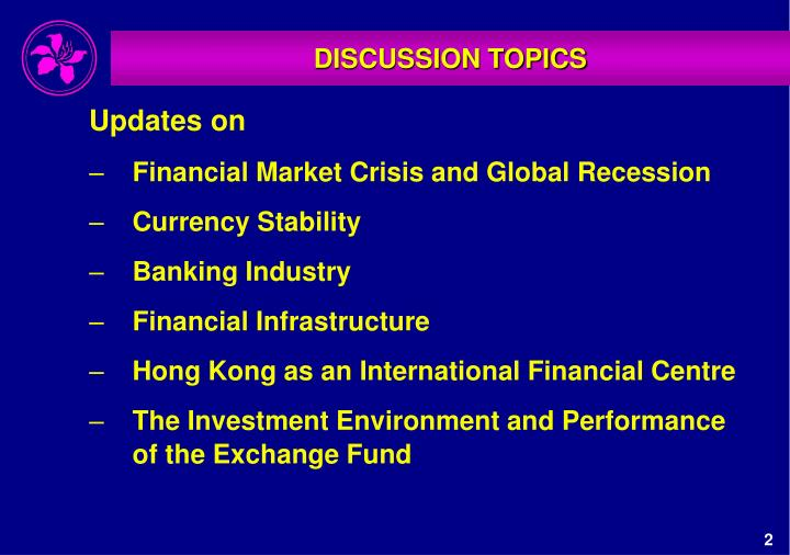 PPT - DISCUSSION TOPICS PowerPoint Presentation - ID:5901292