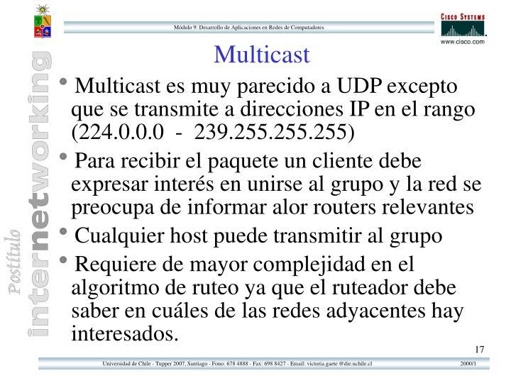 Multicast