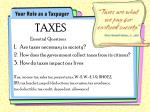 taxes are what we pay for civilized society oliver wendell holmes jr 1904