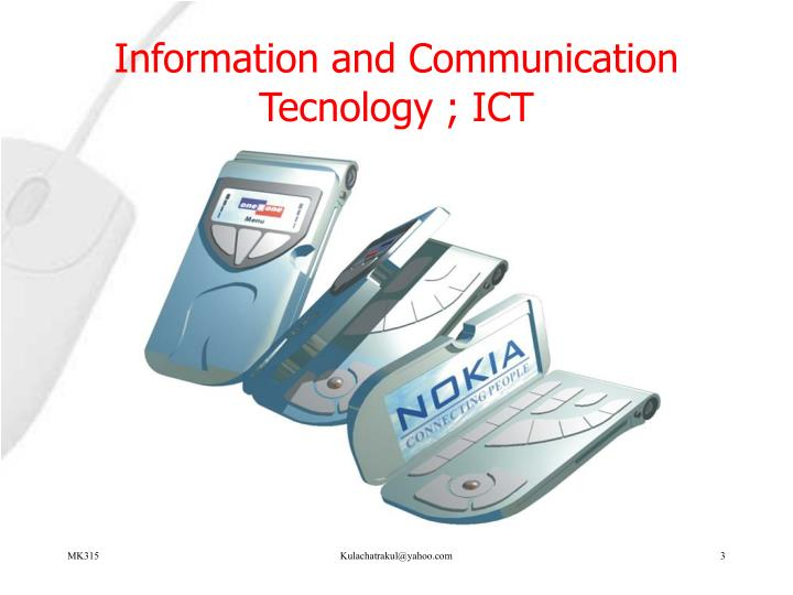 Information and communication tecnology ict