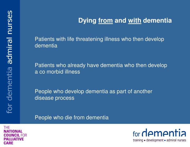 social work with dementia patients essay Running head: hospice social work methods hospice social work methods and interventions for terminally ill patients experiencing anticipatory grief.