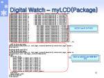 digital watch mylcd package1