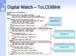 digital watch tolcdblink1