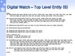 digital watch top level entity 6