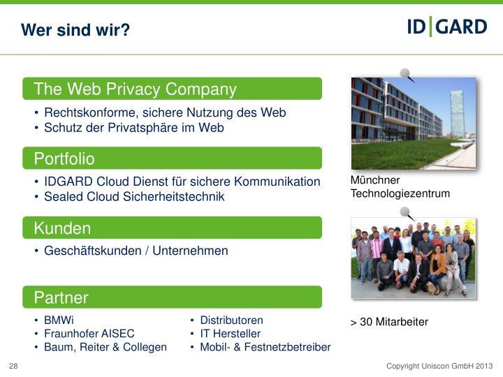 The Web Privacy Company