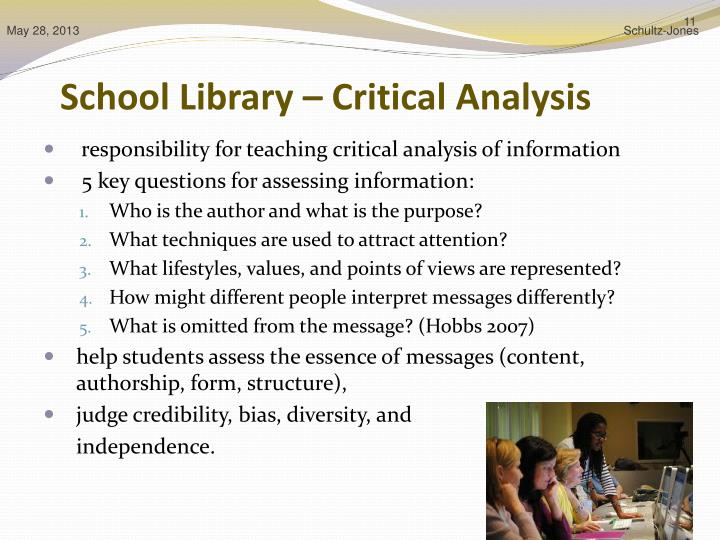 critical essay library Critical reviews of journal articles herbert t coutts university of alberta   a critical review of a journal article is an evaluation of an article's strengths.