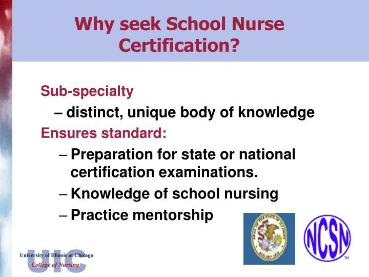 PPT - School Nurse Certificate Program PowerPoint Presentation - ID ...