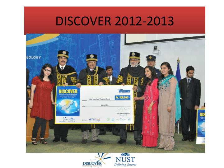nust business plan competition 2012