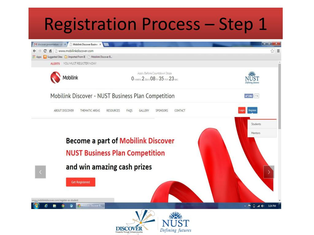 PPT - Mobilink Discover - NUST Business Plan Competition
