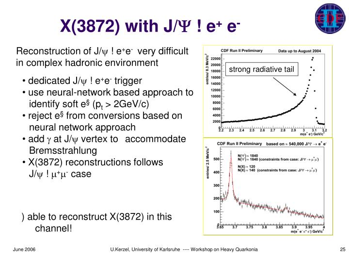 X(3872) with J/