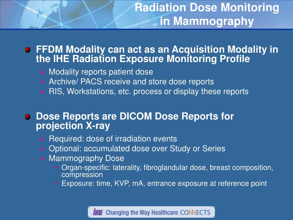 PPT - IHE Mammography: Workflow, Display, and Dose