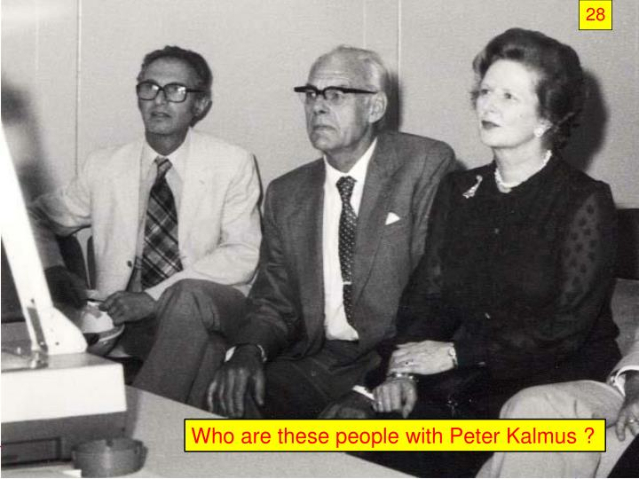 Who are these people with Peter