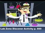 lab zone discover activity p 660