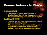 connectedness to place2