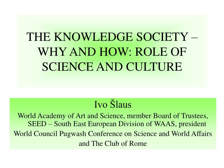 the role of politics and culture in every society