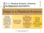 12 11 residual analysis checking the regression assumptions17