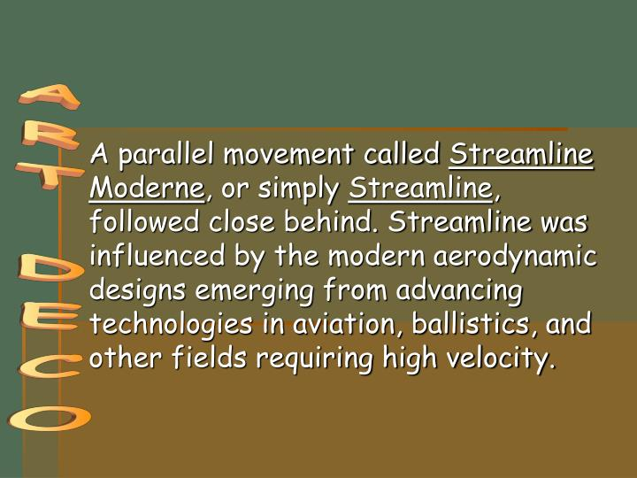 A parallel movement called