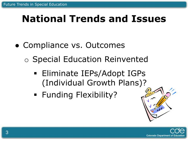 Future Trends in Special Education
