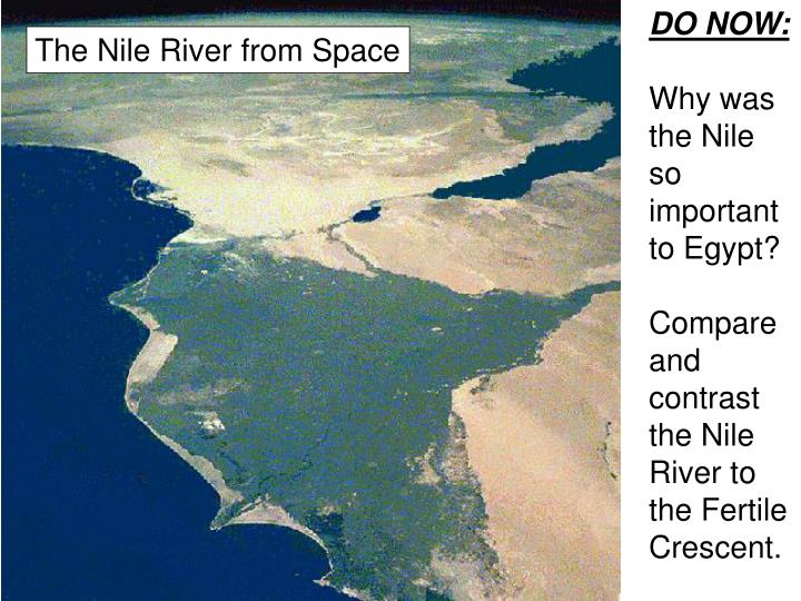 compare and contrast the fertile crescent and the ancient egypt