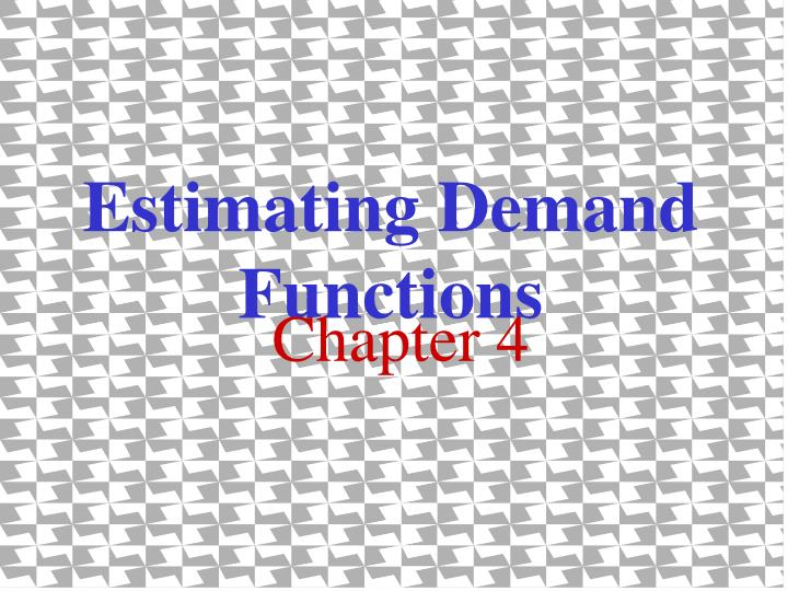 estimate an empirical demand function A using the data in table 1, specify a linear functional form for the demand for combination 1 meals, and run a regression to estimate the demand for combo 1 meals.