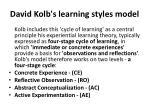 david kolb s learning styles model1