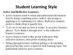student learning style1