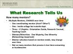 what research tells us2