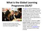 what is the global learning programme glp